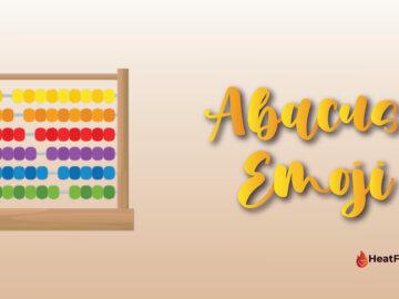 Abacus emoji