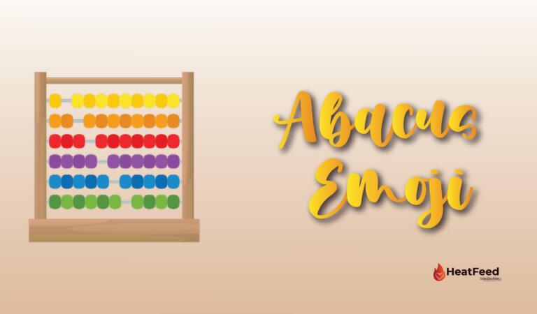 🧮 Abacus Emoji