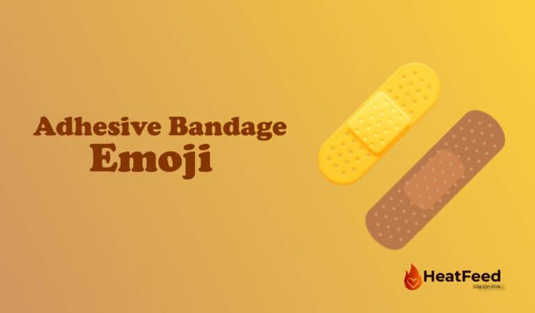 🩹 Adhesive Bandage Emoji
