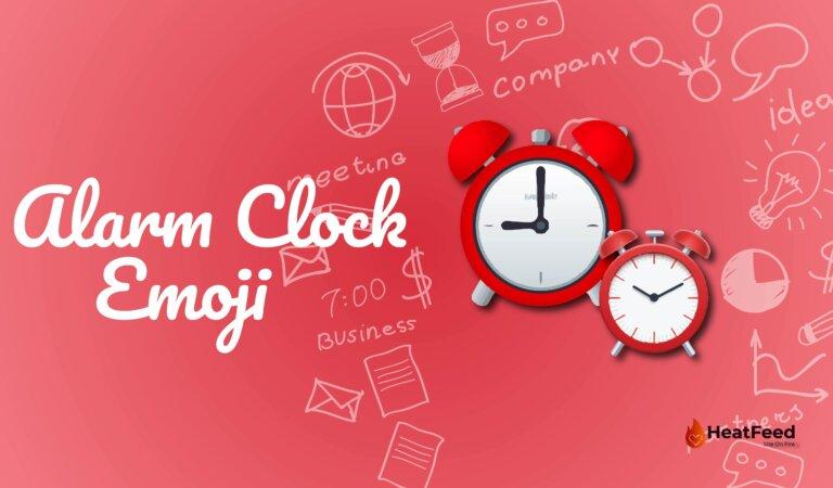 Alarm Clock Emoji⏰