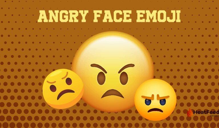 😠 Angry Face Emoji