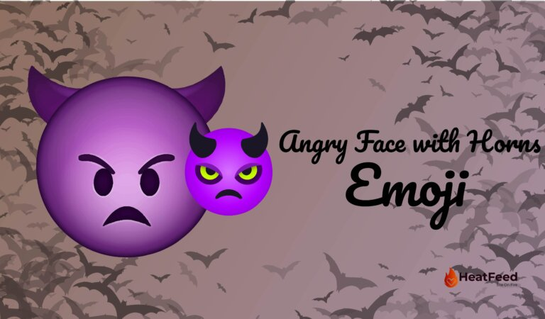 👿 Angry Face With Horns Emoji