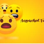 Anguished Face Emoji