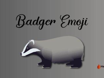 badger emoji