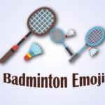 Badminton Emoji