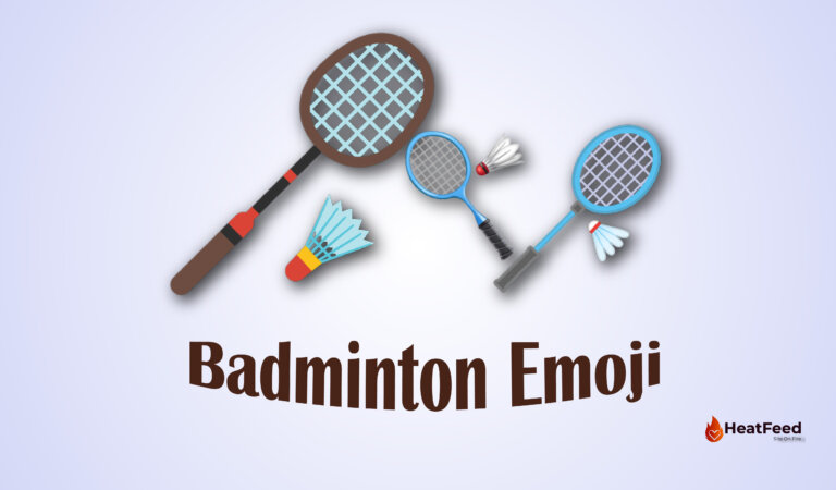 🏸 Badminton Emoji