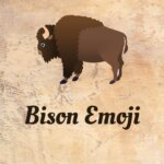 bison emoji