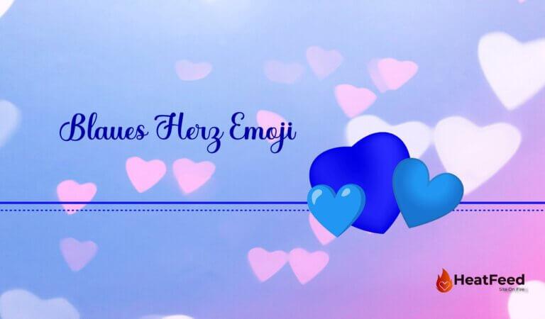 💙 Blaues Herz Emoji