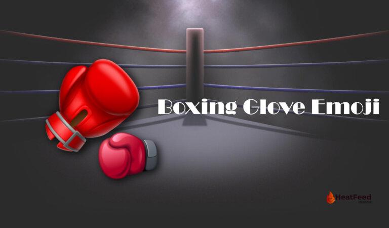 🥊 Boxing Glove emoji