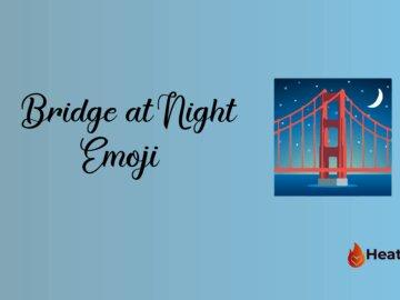 Bridge at Night Emoji
