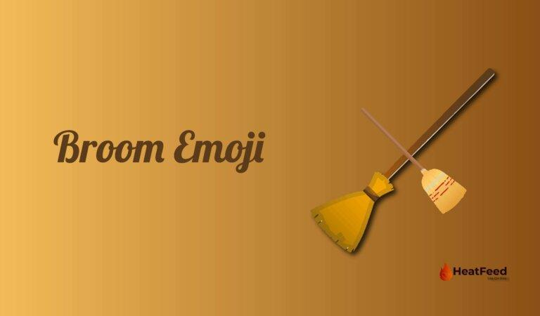 🧹 Broom Emoji