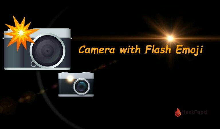 📸 Camera with Flash Emoji