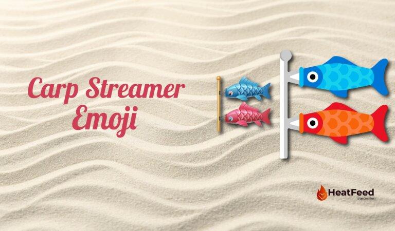 🎏Carp Streamer Emoji