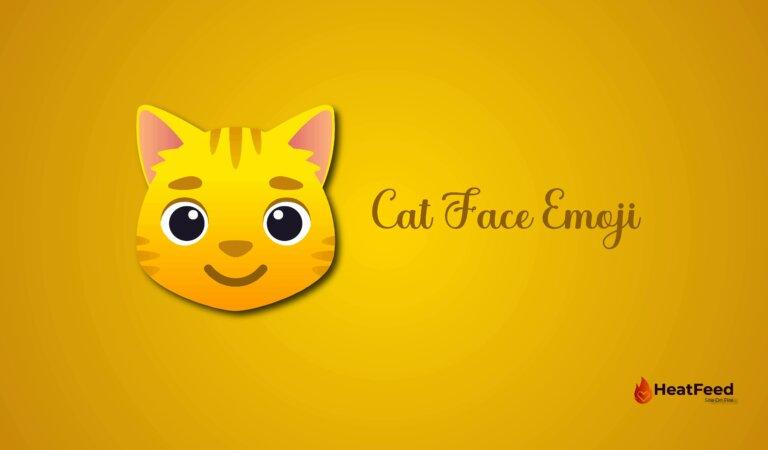 🐱 Cat Face Emoji