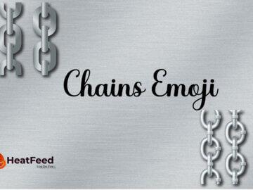 chain emoji
