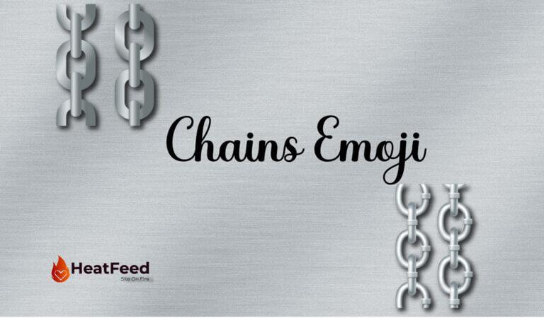⛓️ Chains Emoji