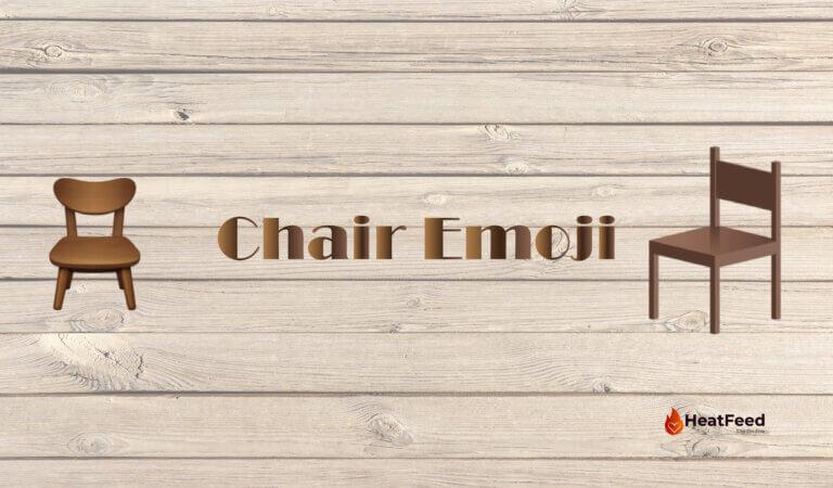 Chair Emoji🪑
