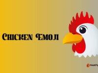 chicken emoji