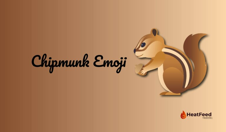 🐿️ Chipmunk Emoji