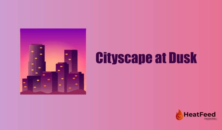 🌆 Cityscape at Dusk Emoji
