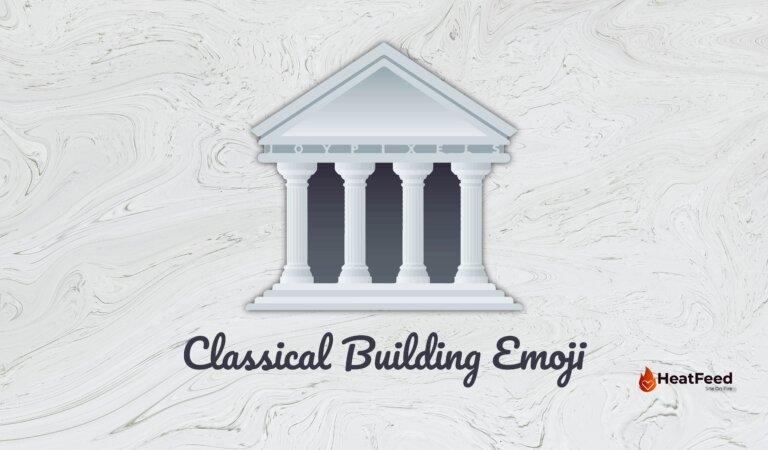 🏛️ Classical Building Emoji