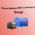 closed mailbox with lowered flag emoji