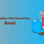 closed mailbox with raised flag emoji