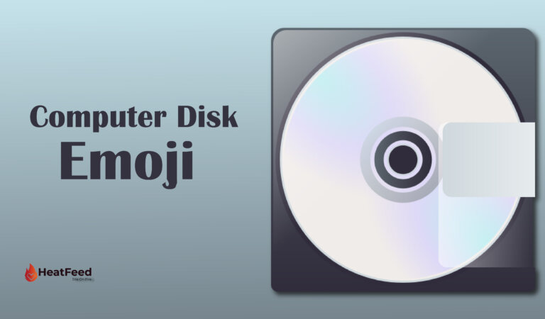 💽 Computer Disk Emoji