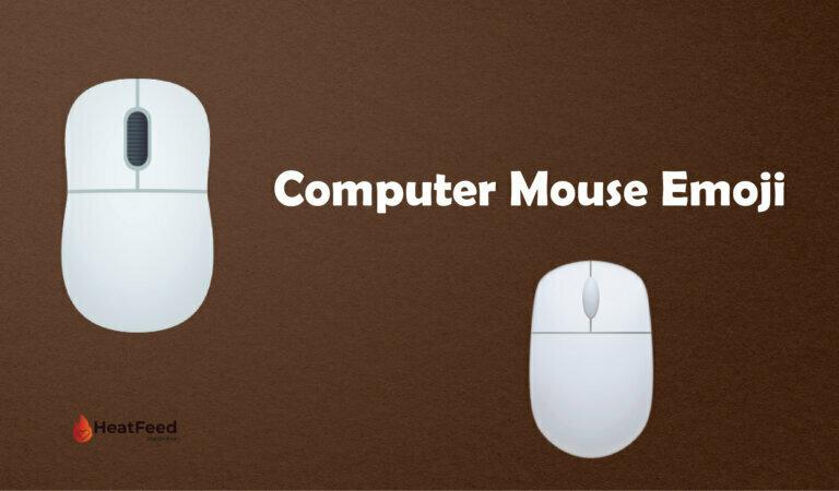 🖱️ Computer Mouse Emoji