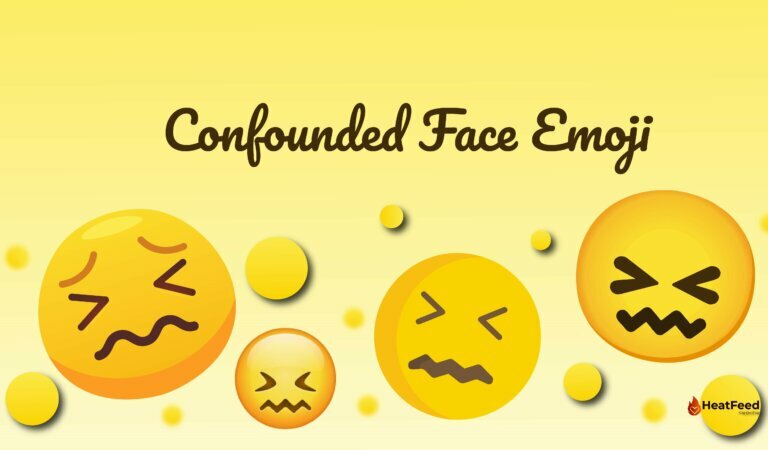 😖 Confounded Face Emoji