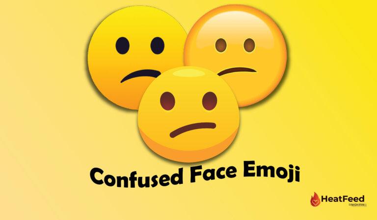 😕 Confused Face Emoji
