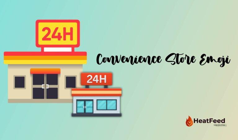 🏪 Convenience Store Emoji