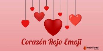 Corazón Rojo emoji