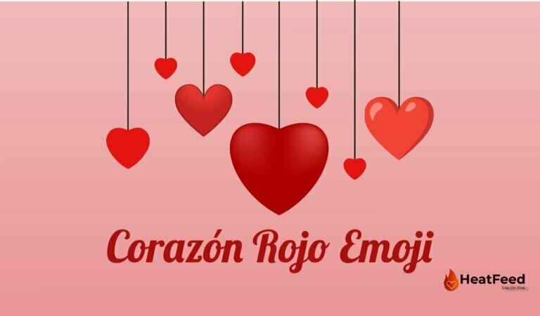 ❤️ Emoji de Corazón Rojo