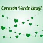 Corazón Verde Emoji
