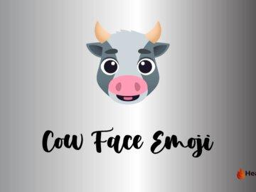 cow face emoji