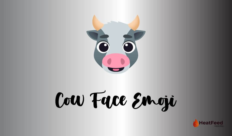 🐮Cow Face Emoji