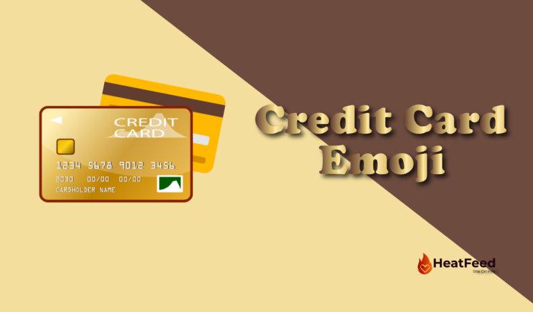 Credit Card Emoji💳