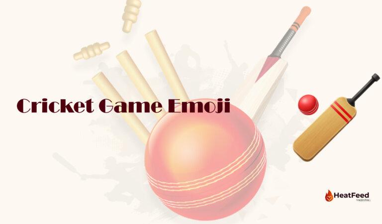 🏏 Cricket Game Emoji