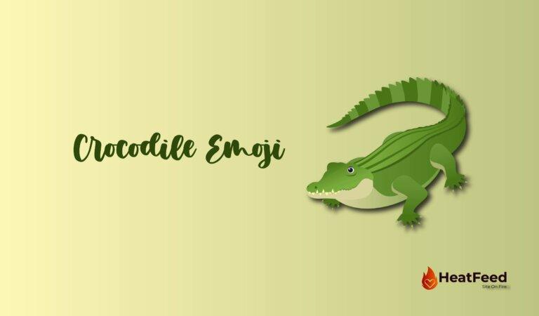 🐊 Crocodile Emoji