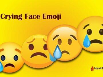 Crying Face Emoji