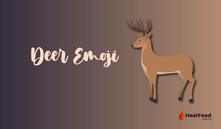 🦌 Deer Emoji