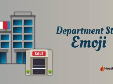 Department store emoji