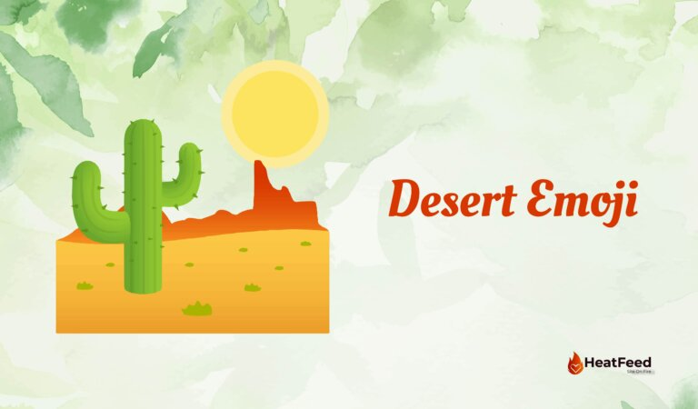 🏜️ Desert Emoji