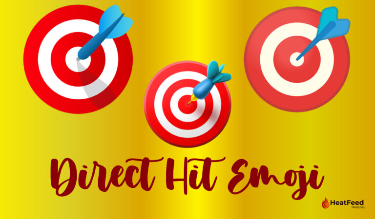 🎯 Direct Hit Emoji