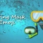 diving mask emoji