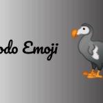dodo emoji