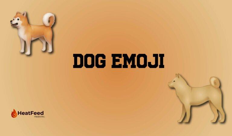 🐕 Dog Emoji