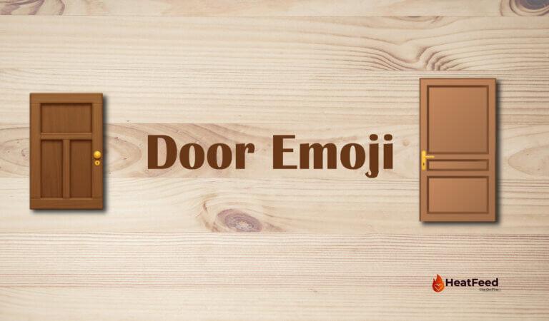 🚪 Door Emoji