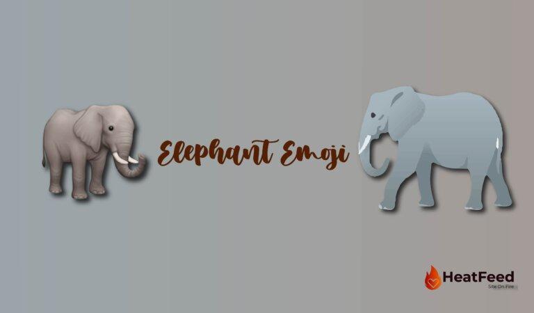Elephant  Emoji🐘